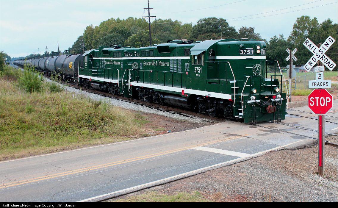 RailPictures.Net Photo: GRLW 3751 Greenville & Western EMD GP9 at Cheddar, South Carolina by Will Jordan