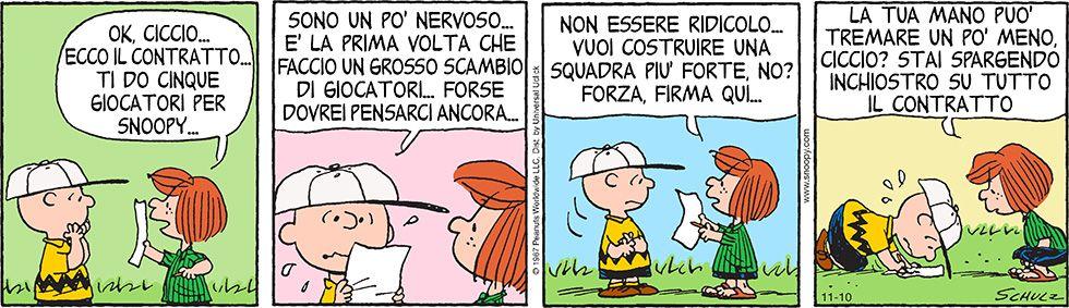 Peanuts - 10 novembre 2014