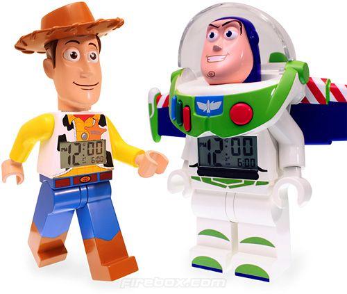 Toy Story LEGO Alarm Clocks (Images courtesy Firebox.com)   Ben's ...