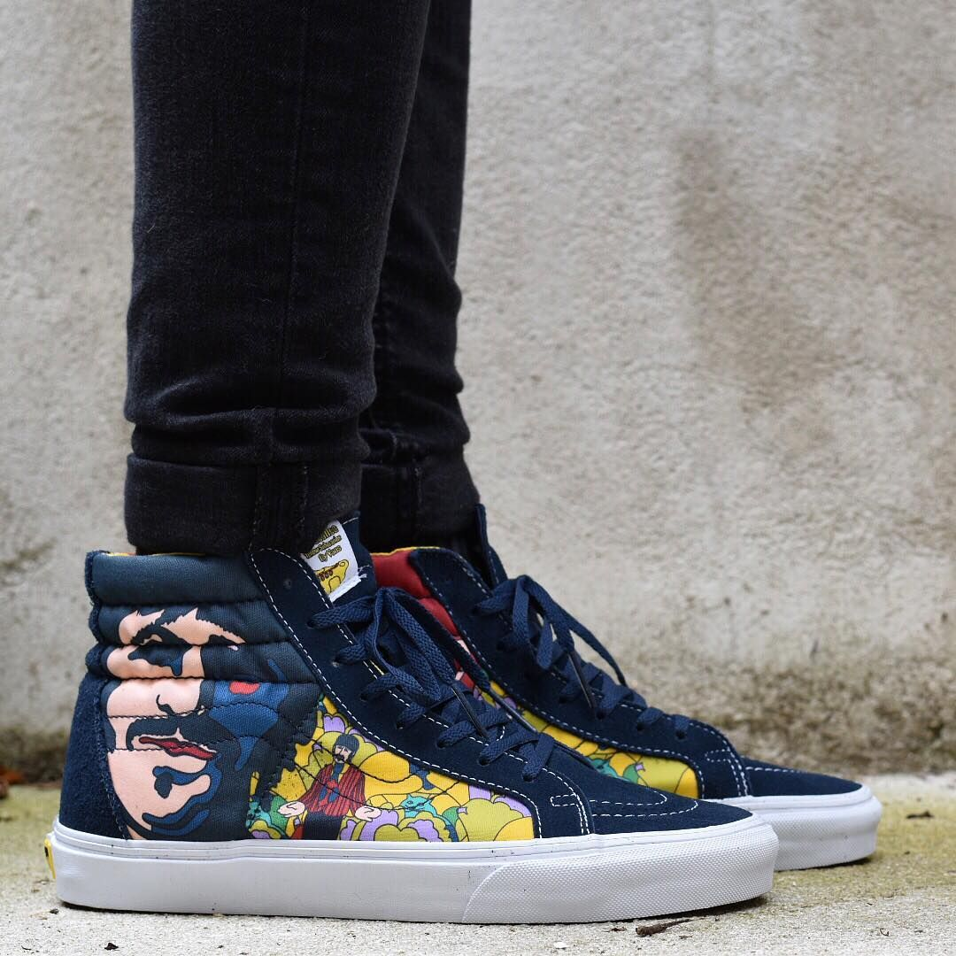 8365af9ab5 The Beatles x VANS Sk8-Hi Reissue