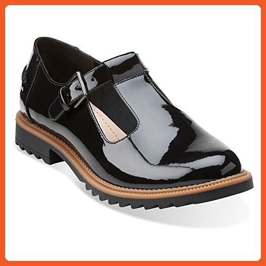 clarks women's patent leather shoes