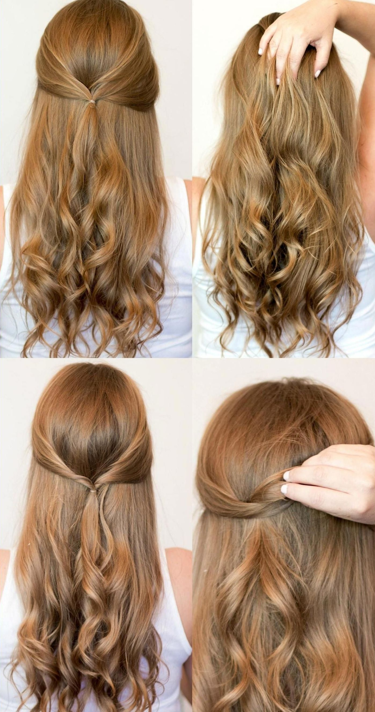 schnelle #frisuren #arbeit #anleitung #quick #hairstyles #tutorial