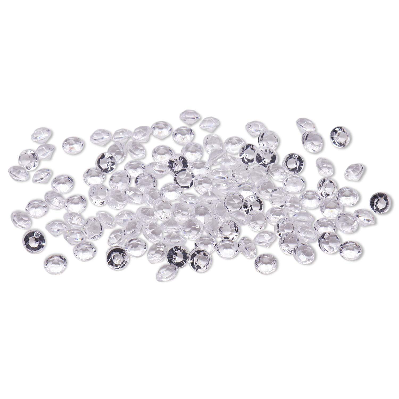 500 Silver Decorative Glass Pebble Stones Beads Wedding Decoration Craft Art