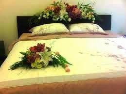 bunga dekorasi kamar pengantin   kamar dekor, dekorasi