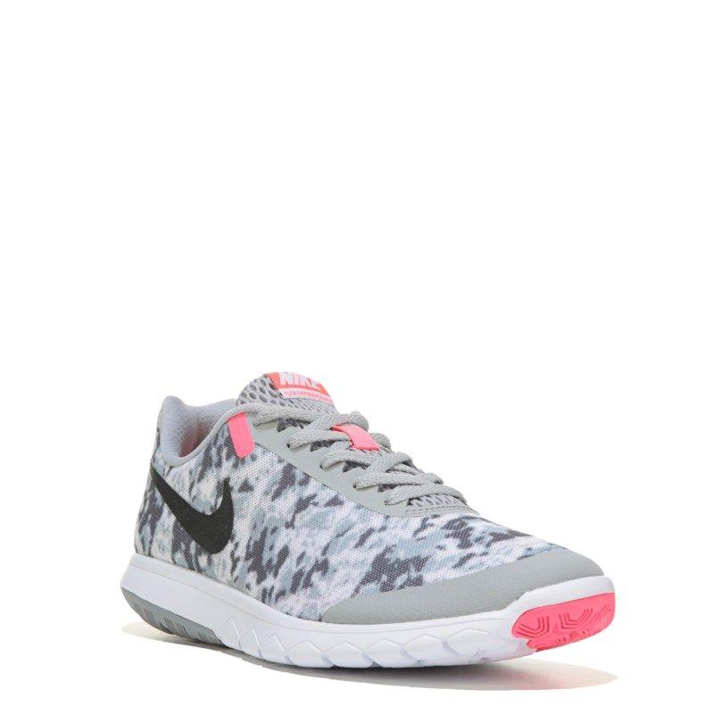 ee5e7d55ff14 Nike Women s Flex Experience RN 6 Running Shoes (Grey White Print) - 11.0 M