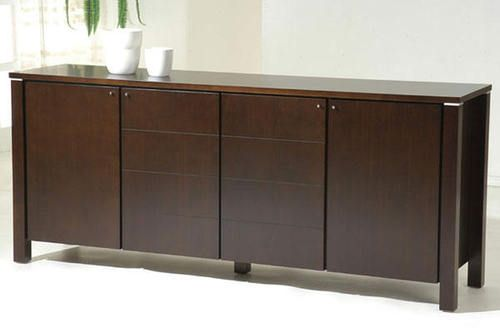 Buffet Table Sideboard Credenza Cabinet Server Contemporary Modern Furniture New