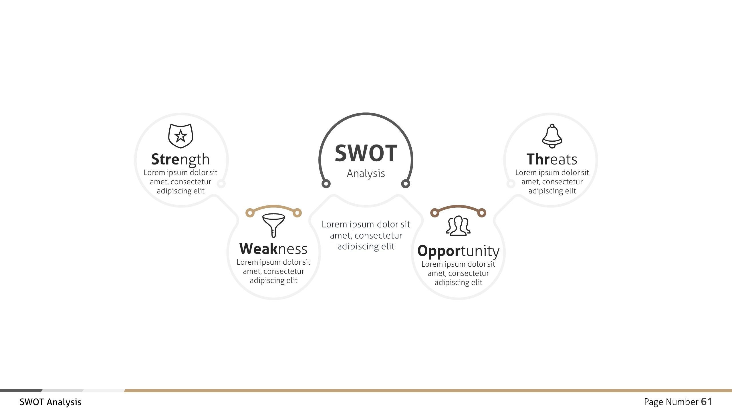 Swot Analysis Business Infographic Google Slides Business