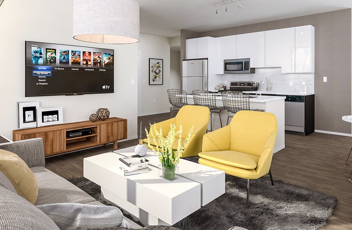 Fresh and contemporary   Apartment living, Luxury apartments