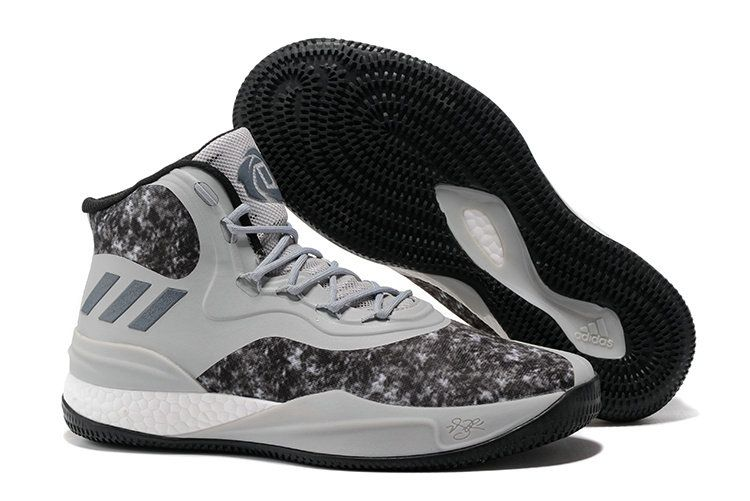 867f980a5a26 adidas D Rose 8 Boost Black Camouflage Basketball Shoe For Sale ...