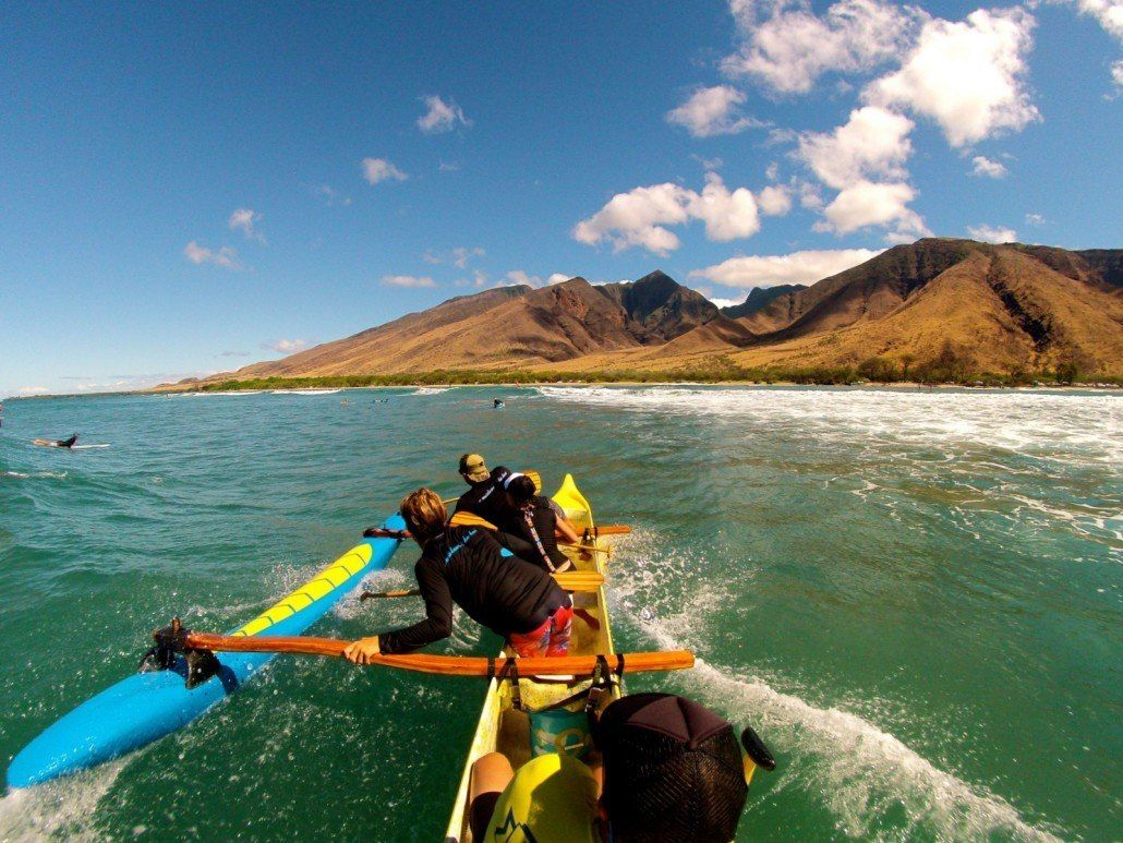 Maui Canoe Surfing Tours Outrigger canoe, Canoe, Surfing