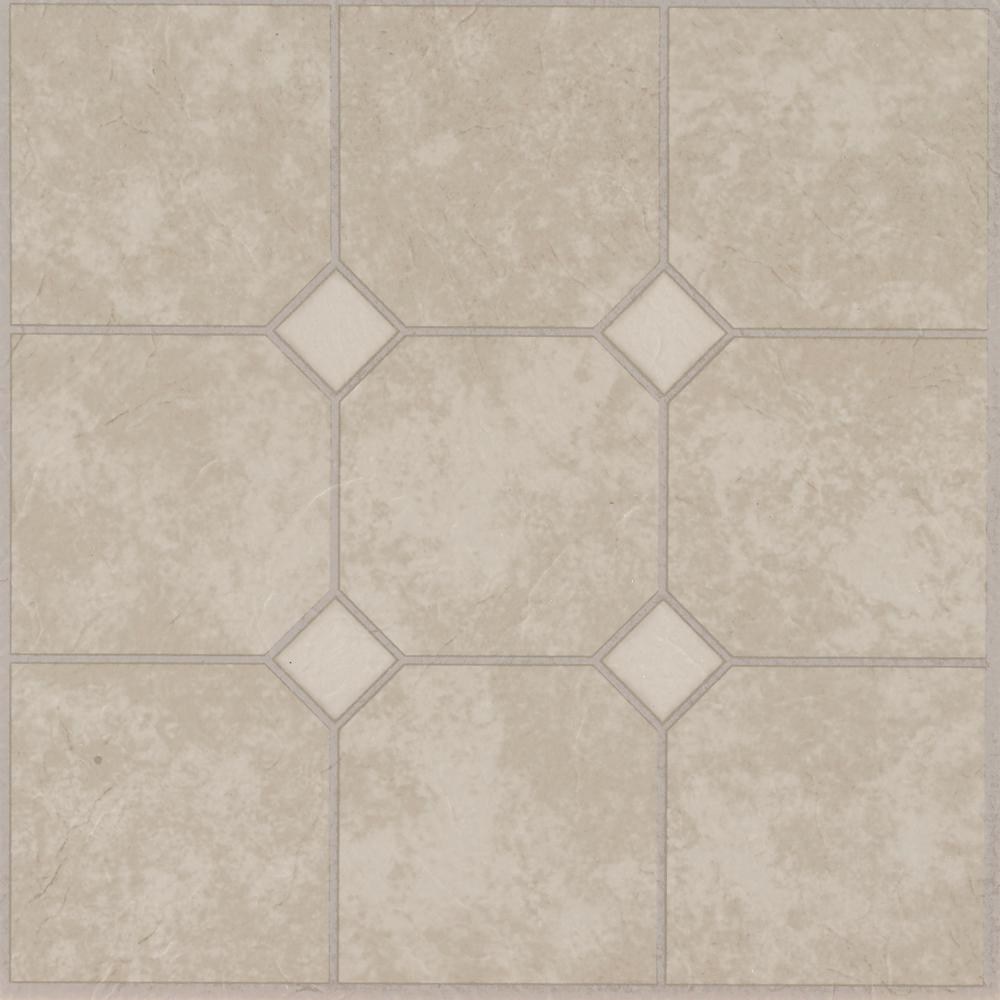 Armstrong Rockport Marble Sand 12 In X 12 In Residential Peel And Stick Vinyl Tile Flooring 45 Sq Ft Case 25285011 The Home Depot Armstrong Flooring Vinyl Tile Marble Vinyl