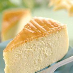 Afslankende cheesecake met citroen -