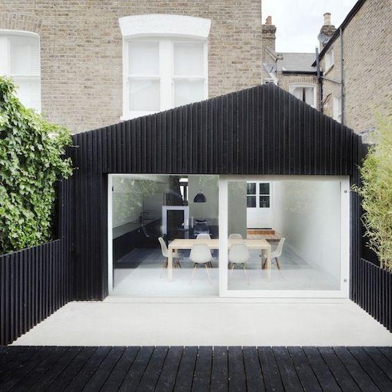 architecture Arquitectura Pinterest Maison de ville, Bardage - prix pour extension maison