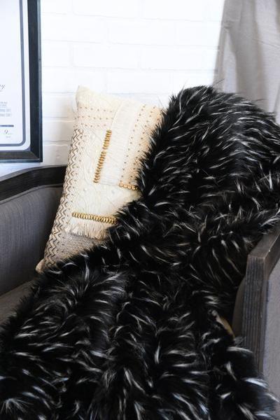 Black And White Faux Fur Throw Blanket White Faux Fur Throw Faux Fur Throw Blanket Faux Fur Throw