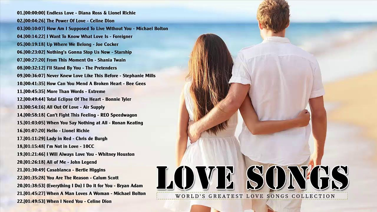 Greatest love songs of all