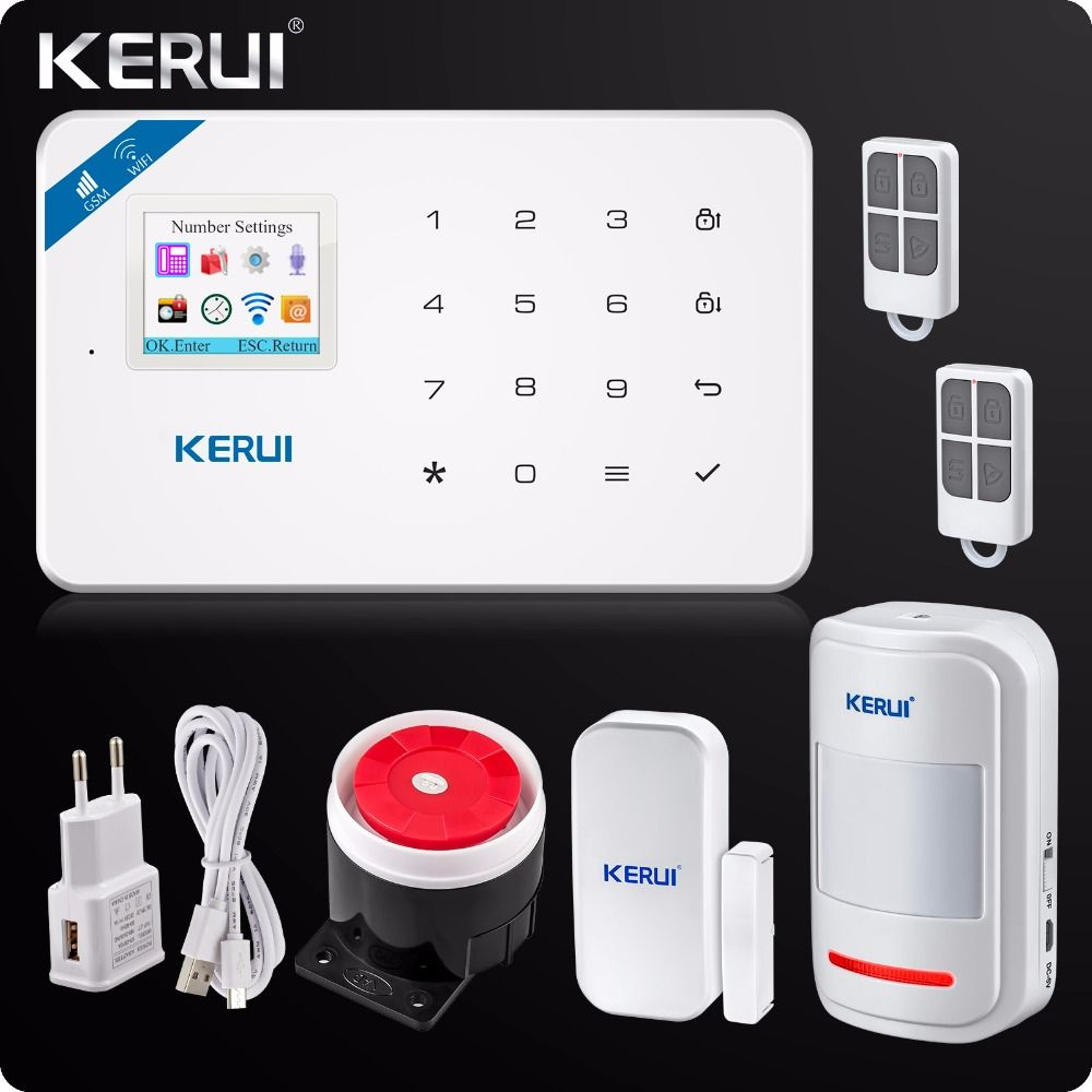 Etiger WIFI GSM Alarm Systems Security Home Wireless