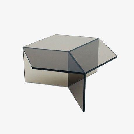 Isom Glass Side Table By Sebastian Scherer | MONOQI
