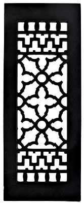 Victorian Style Cast Iron Floor Grate For Return Air Intake Or Heat Vents Vintage Home Accessories Wrought Iron Hardware Aluminum Wall