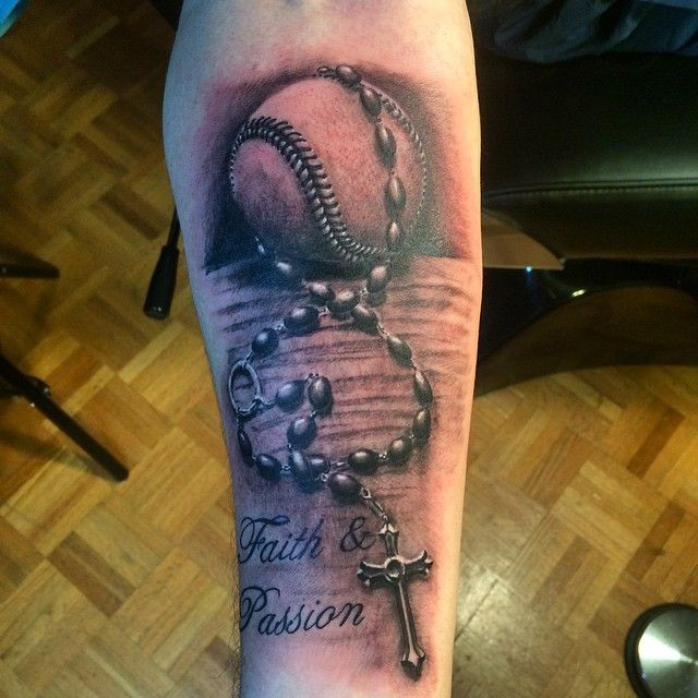 45 Sporty Baseball Tattoo Designs – For The Love Of The ...