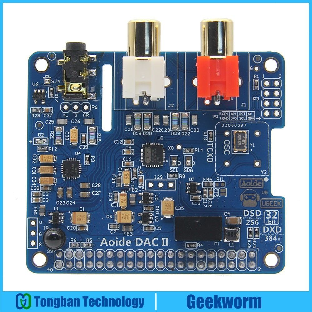 DAC II ES9018K2M Hifi Sound Card 32bit DSD/APE/FLAC/WAV