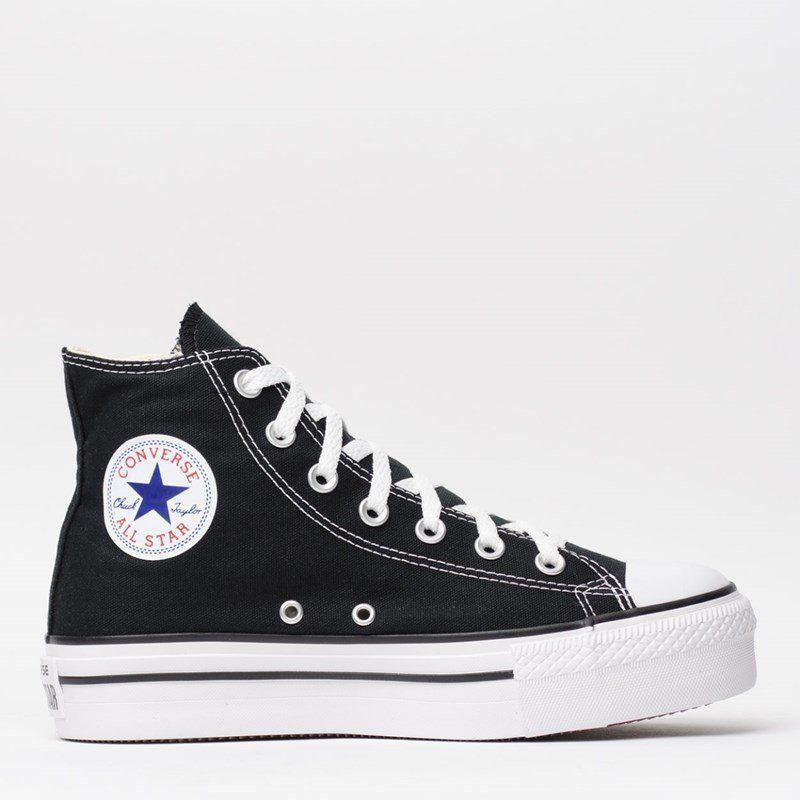 f38871e54 Compre Converse All Star   Tênis Converse Chuck Taylor All Star Platform Hi  Preto CT04940001 por R 199