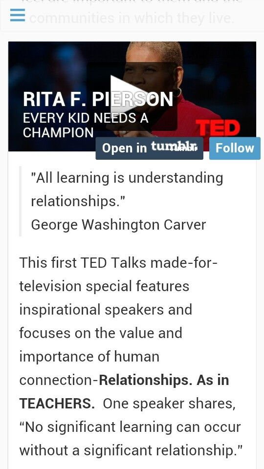 """All Learning Is Understanding Relationships """" George Washington"""