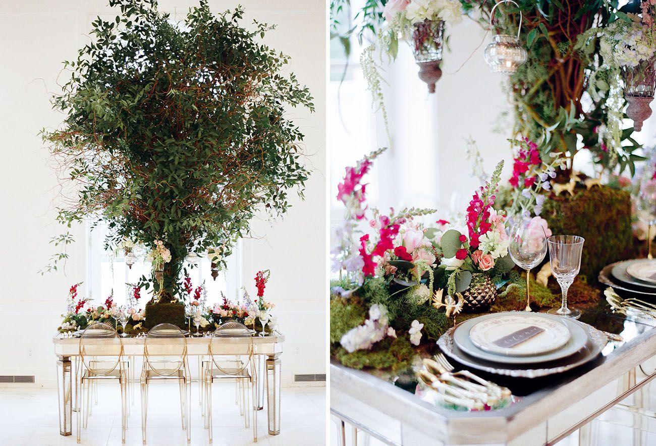 Modern Midsummer Night\'s Dream Wedding Inspiration | Enchanted ...