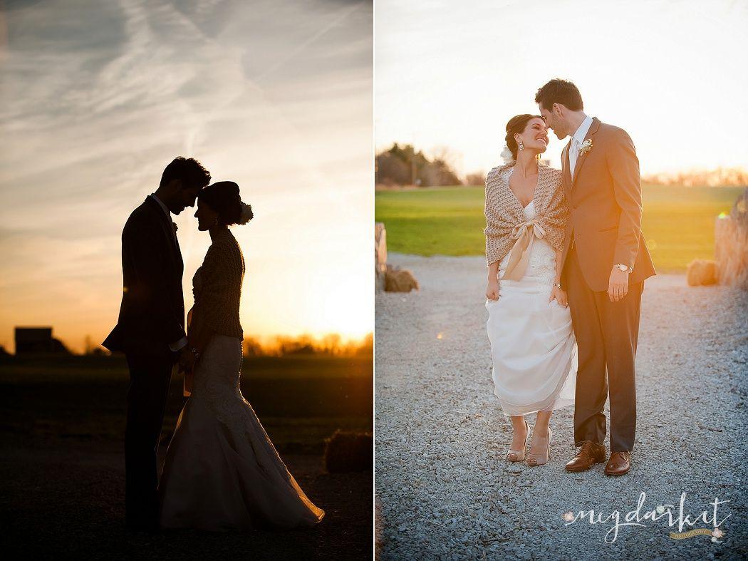 Sunset Pictures The Valley Frutig Farms Ann Arbor Wedding Photographer Michigan Barn
