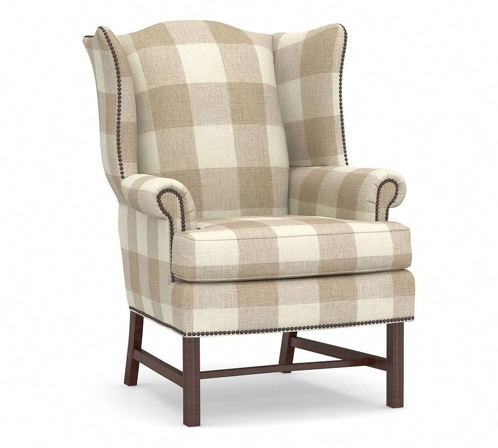 Thatcher Upholstered Wingback Chair Wing Chair Upholstery