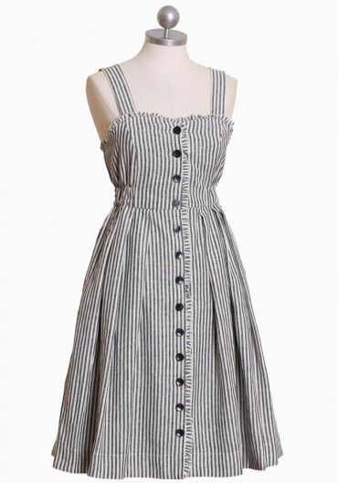 I love this striped dress!