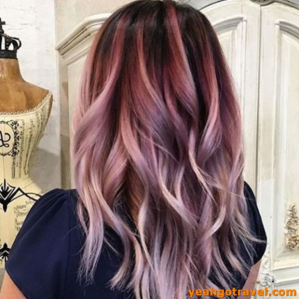 36 Pretty Pink Hair Color For Women 2019 – Yeahgotravel.com