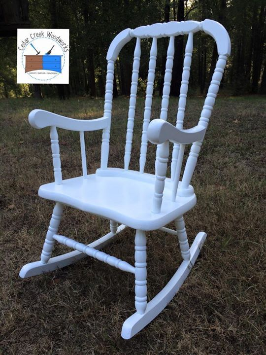 jenny lind rocking chair steel set of 3 painted vintage child s rocker for the kids pinterest furniture restoration children