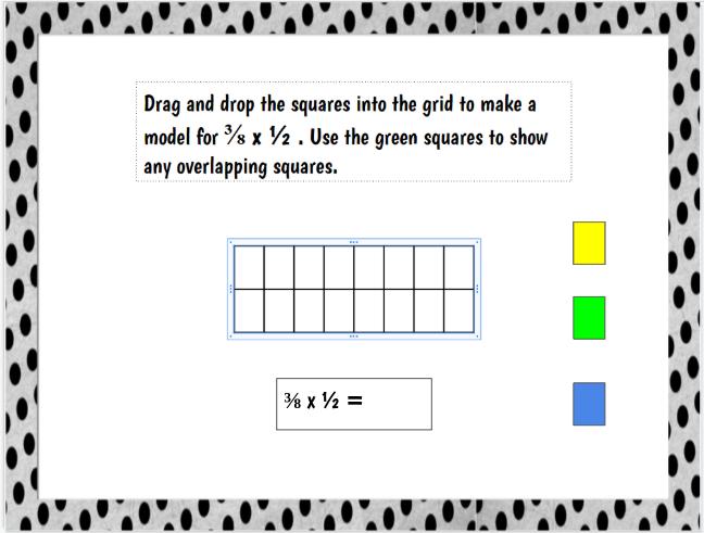 Multiplying Fractions Google Sheets/ Google Classroom