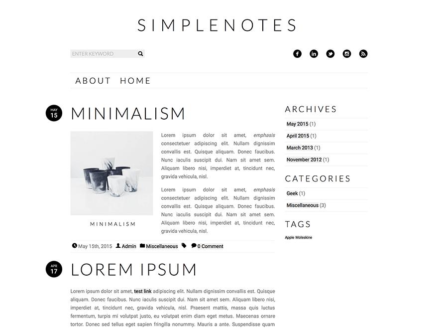 Free WordPress Themes - Free wordpress themes, Best free wordpress themes, WordPress theme - 웹