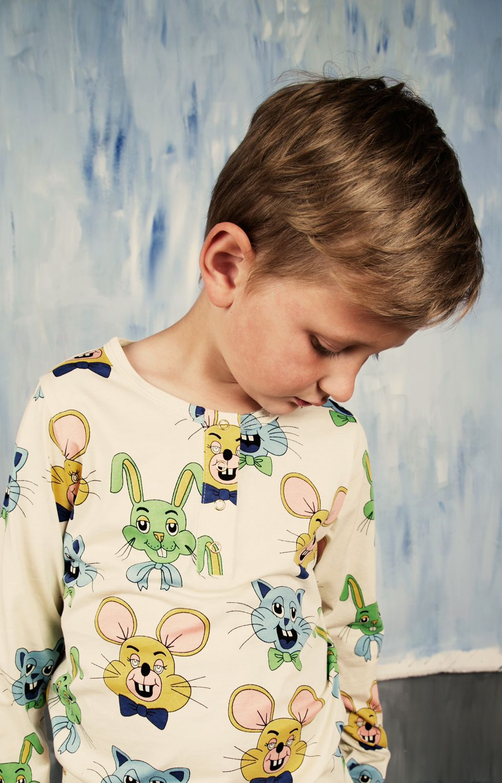 Camiseta manga larga Tivoli Toy verde - ALittleDress
