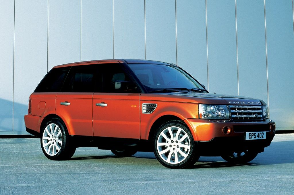 Range Rover Sport first official pictures (2005)