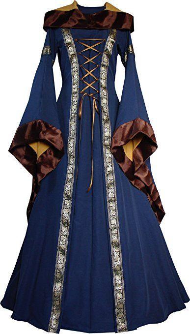 Dornbluth Damen Mittelalter Kleid Sarah:
