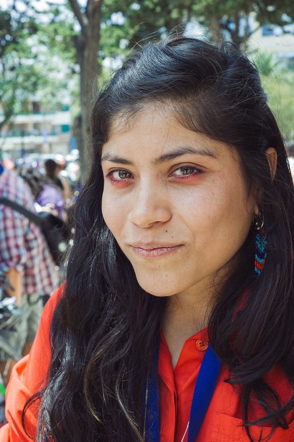 jóvenes en una manifestación contra la violencia de género | read | i-D Denisse