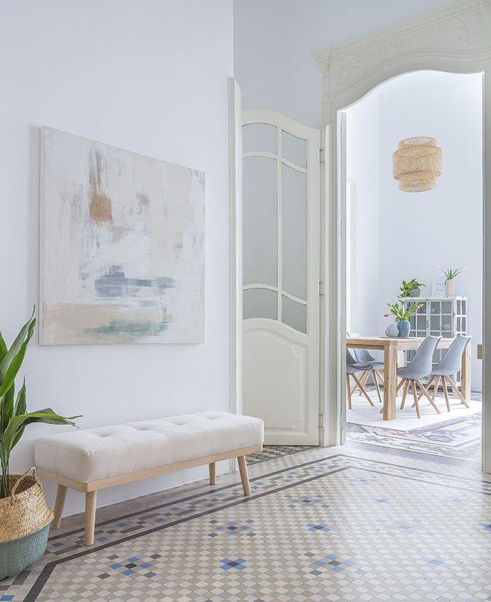 Hogares kenay un piso con un encanto especial pinterest - Pisos decorados con encanto ...