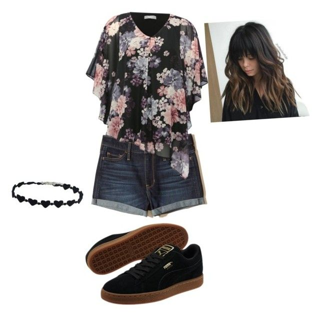 """""""Untitled #12"""" by solbenson on Polyvore featuring beauty, Hollister Co., M&Co and Puma"""
