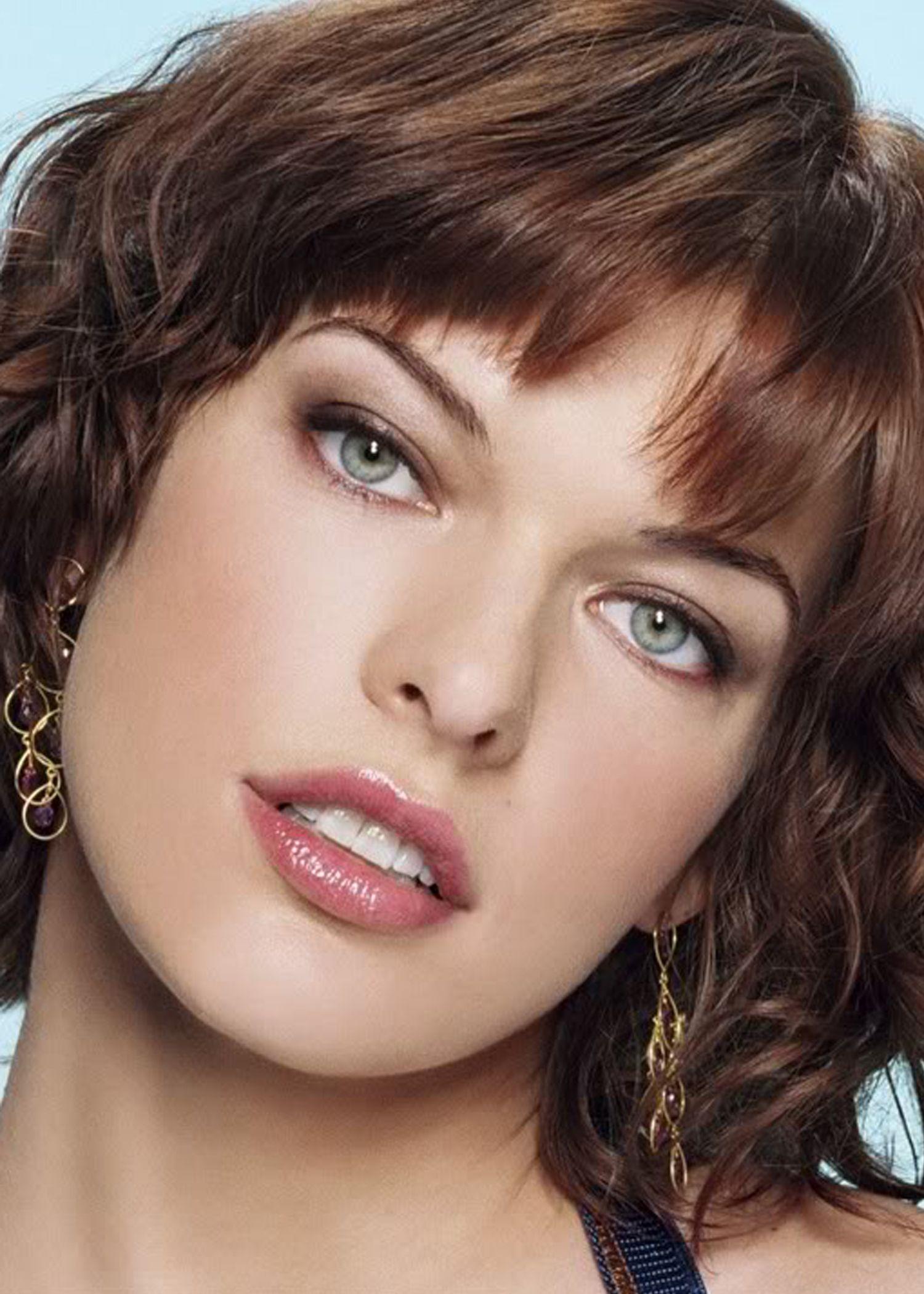 Beautiful eyes | Eyes | Milla jovovich, Beautiful ...