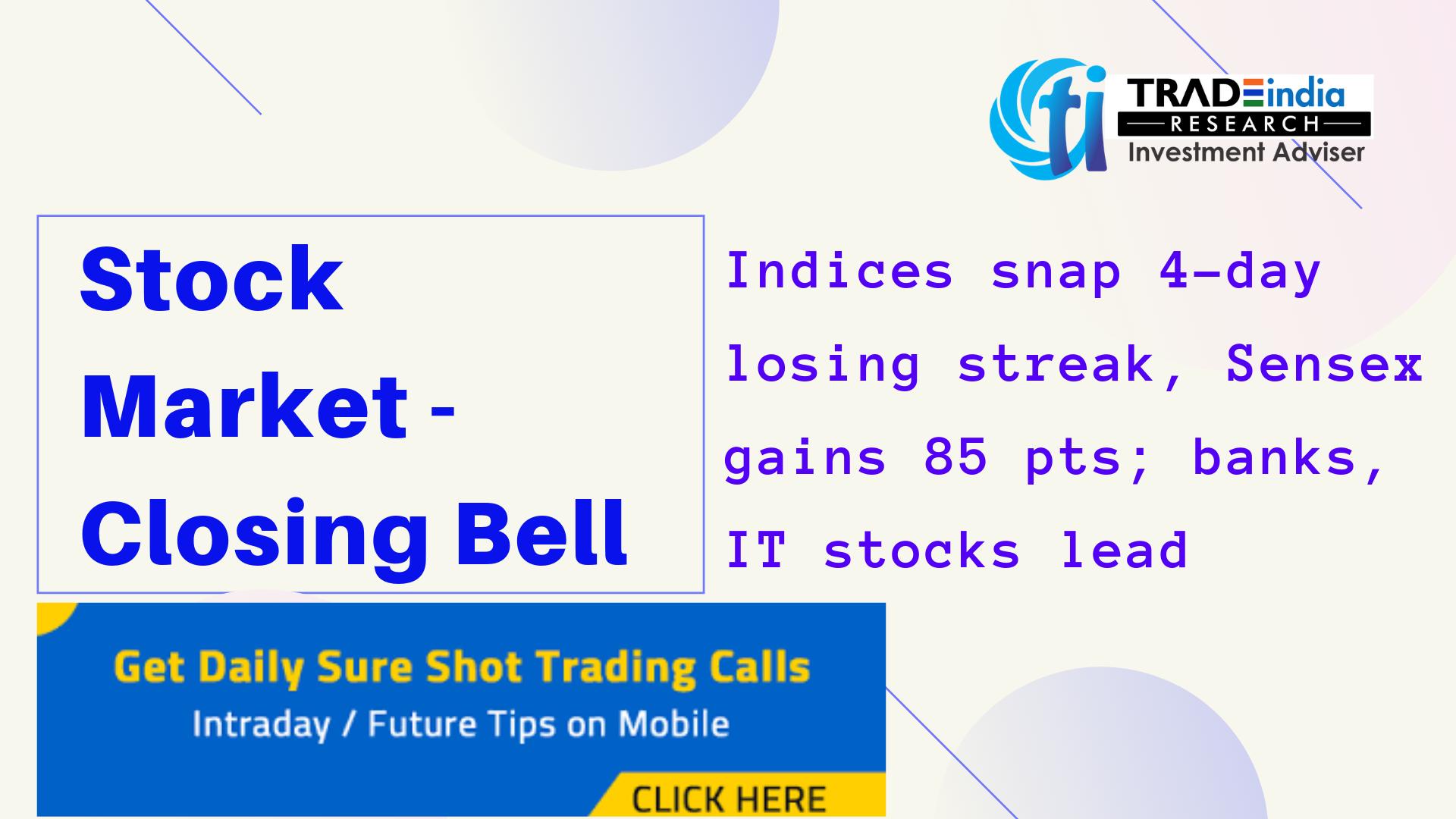 Stock Market Closing Bell Stock Market Tips Marketing