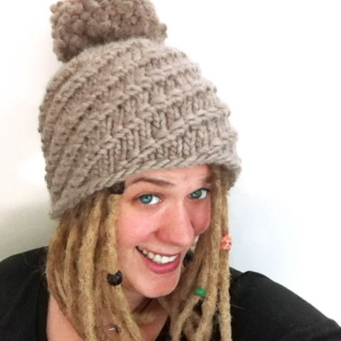 Big hat for big head or big hair. Free Pattern  http    eda3e94159e