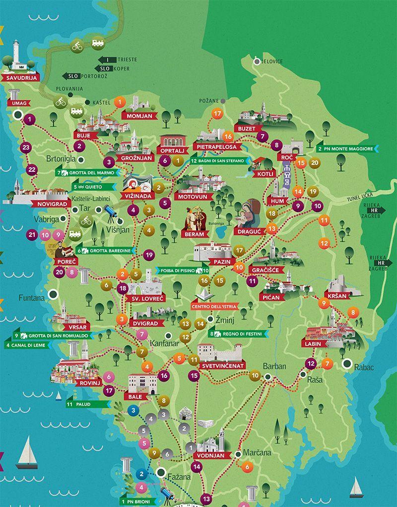 Afbeeldingsresultaat Voor Istra Map Vrsar Kroatie Reizen Kroatie Reislust