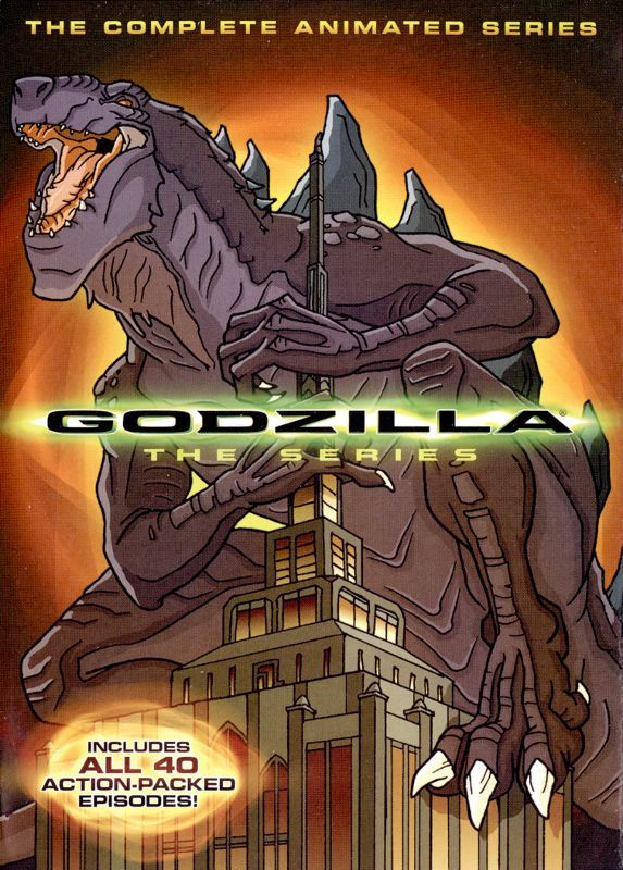 Godzilla The Complete Animated Series [4 Discs] (DVD