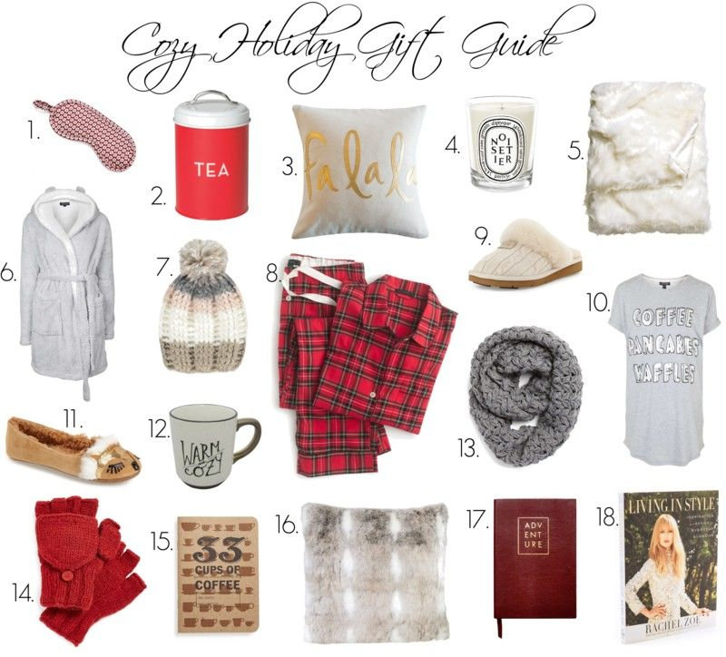 cozy + holiday gift guide DIY gifts Pinterest Holiday gift