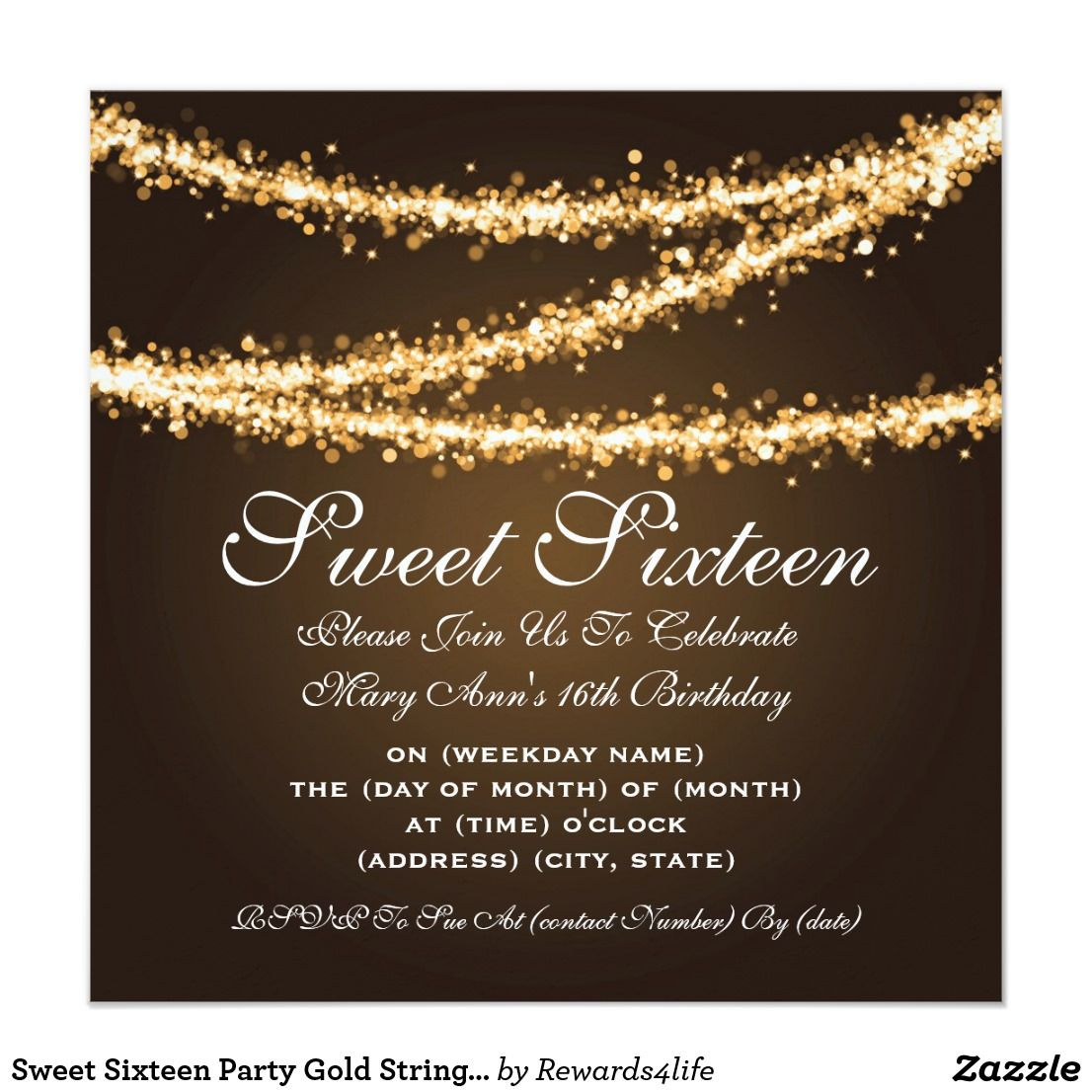 Pin On Happy Birthday Invitations And Party Supplies