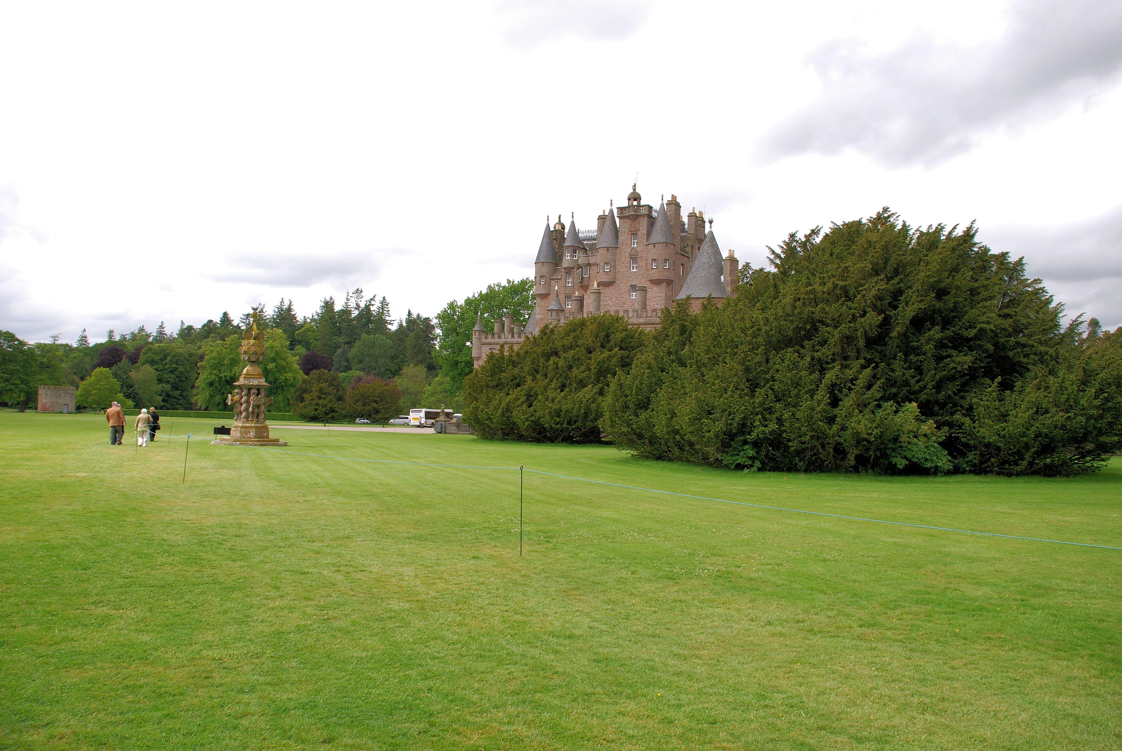Clamis Castle Schotland