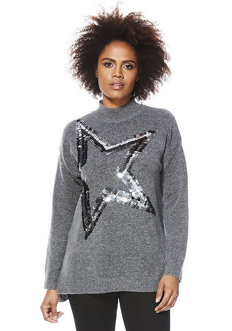 35be8279bb Tesco direct: F&F Sequin Star Jumper | tops. | Fashion outfits ...