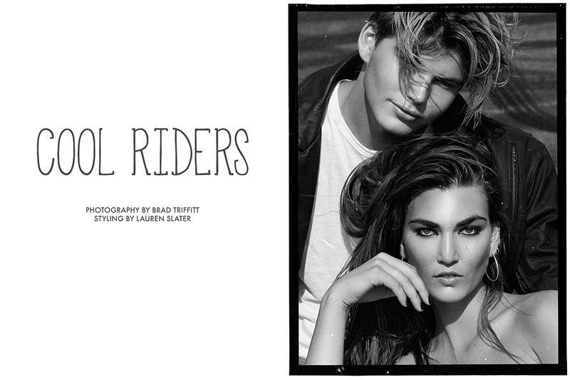 cool Exklusiv: Tallulah Morton ist ein 'Cool Rider' in Brad Traffitt schießen